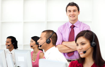 Agents using Service Desk Software